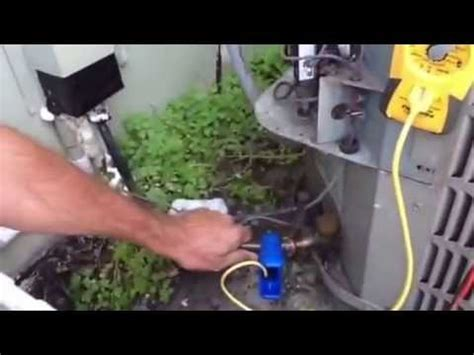 Adding Refrigerant To Home Ac Unit - is my air conditioning unit low on freon