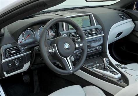 bmw m6 interni foto bmw m6 cabrio interni