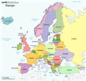 Modern Map Of Europe by Geogopahy Of Europe Euroblog Joshua Martinez