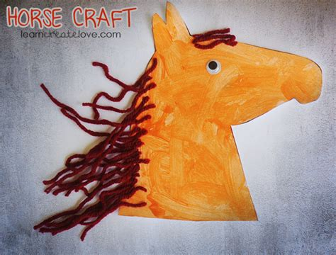 crafts to do with pony printable craft version ii