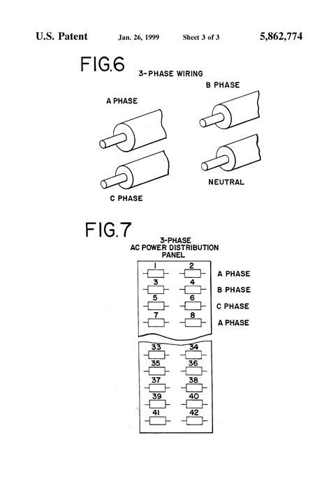 patent us5862774 electrical wire identification marking