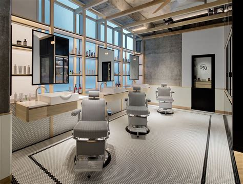 Luxury Interior Homes by Clean Cut Minimalism And Tradition At Akin Barber Amp Shop