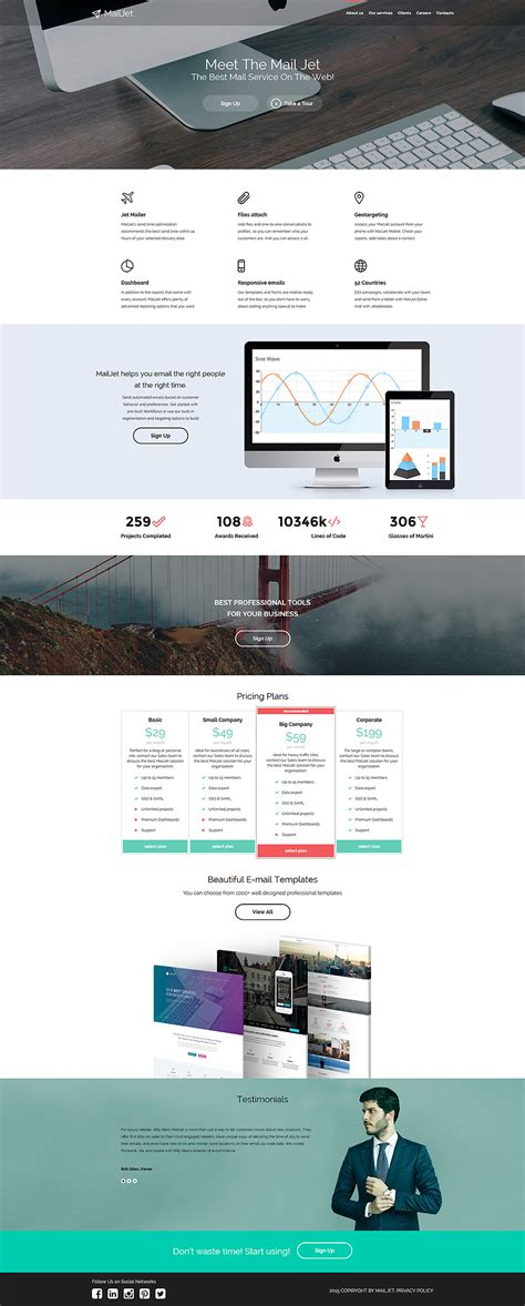 Digital Marketing Agency Website Template Digital Agency Website Templates