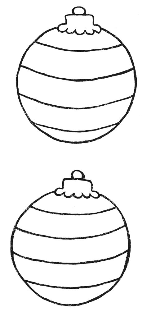 christmas ornament outlines printable templates http webdesign14