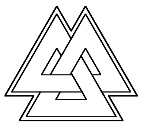 valknut by shizgoob on deviantart