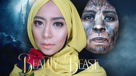 Eyeshadow Lokal and the beast makeup tutorial glam looks pakai produk drugstore dan lokal