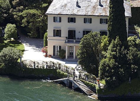 george clooney home in italy george clooney in celebrity homes zimbio