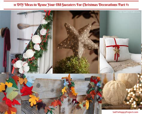 christmas decorations recycle for scotland 11 diy ideas to reuse your old sweaters for christmas