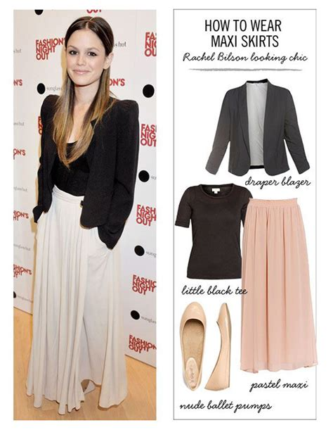 how to wear a maxi skirt for any season