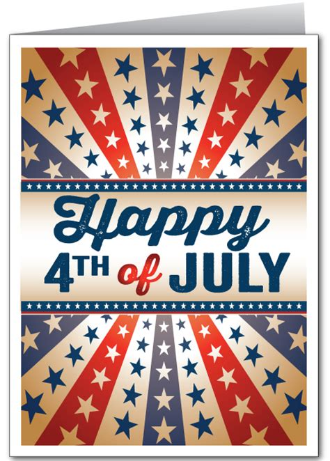 Fourth July Birthday Cards Fourth Of July Ministry Greetings Christian Cards