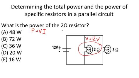 resistors in parallel and power resistors in parallel ck 12 foundation