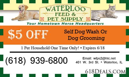 coupons pet supply waterloo il 5 off 618deals com