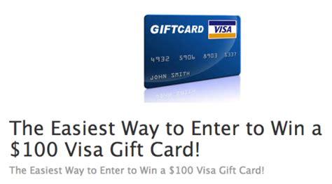 Win A 100 Visa Gift Card - visa gift card