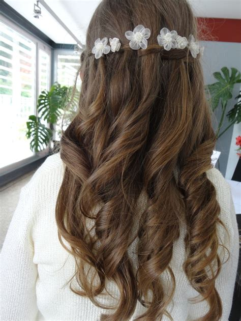 cute hairstyles for first comunion 343 best images about primera comunion on pinterest