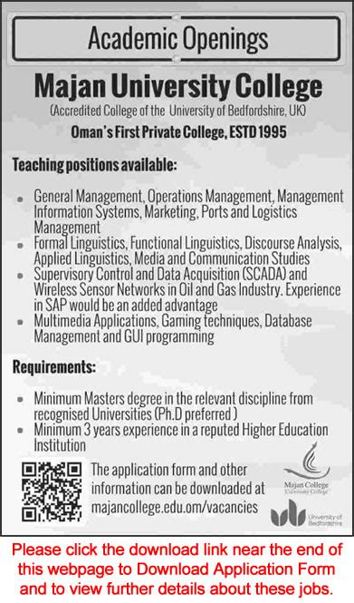 List Of Mba Colleges In Muscat by Majan College Oman 2015 March Teaching