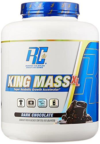 Rc Ronnie Coleman King Mass Xl 15 Lbs Original Formula Kingmass ronnie coleman signature series king mass xl anabolic growth accelerator chocolate