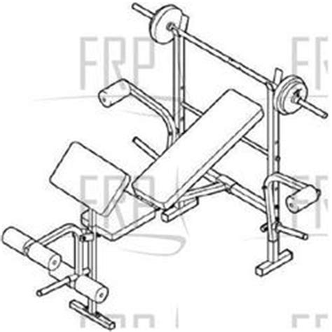 weider pro 230 bench weider pro 230 831 150340 fitness and exercise equipment repair parts
