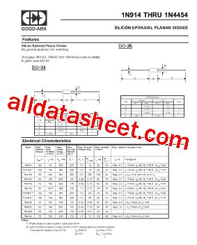 1n914 diode datasheet pdf 1n914 datasheet pdf ark electronics