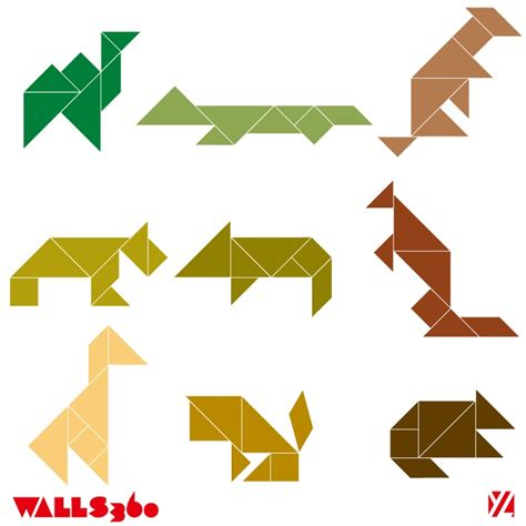 Printable Animal Tangrams | 1000 images about tangram on pinterest thinking skills