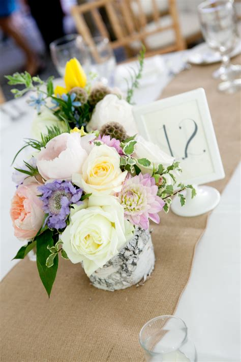 Rustic Vermont Wedding Rustic Wedding Chic Birch Wedding Centerpieces
