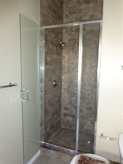 semi frameless shower door cost semi frameless shower doors and enclosures denver bel