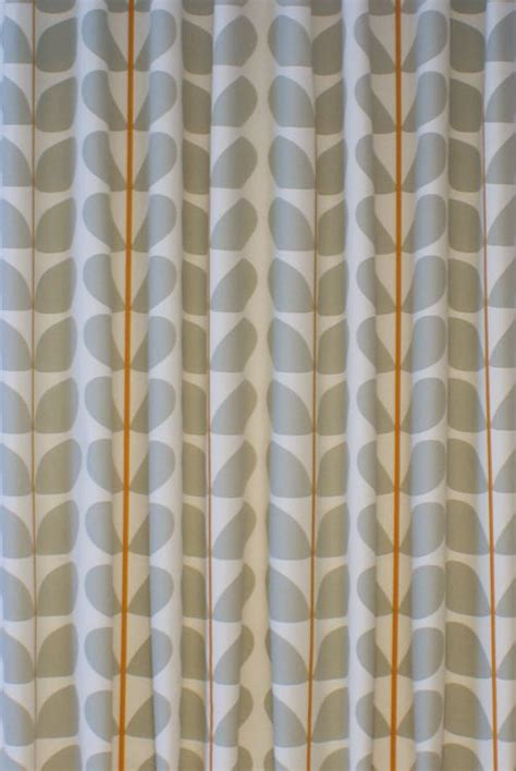 orla kiely curtains orla kiely two colour stem warm grey curtain blind