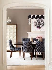 Patterned Upholstered Dining Chairs Bhg Style Spotters