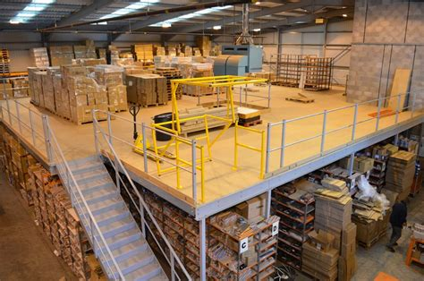 mezzanine floors uk racking mezzanine floors in carlisle l advanced handling storage ltd