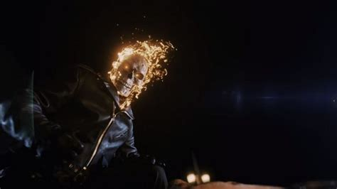 Ex Machina Movie by Another Ghost Rider Debuts On Marvel S Agents Of Shield