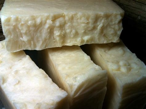 Handmade Lye Soap - our own lye soap 1 bar soaps from end of the