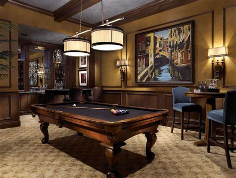 pool room decor nice looking billiard room from high end interior design