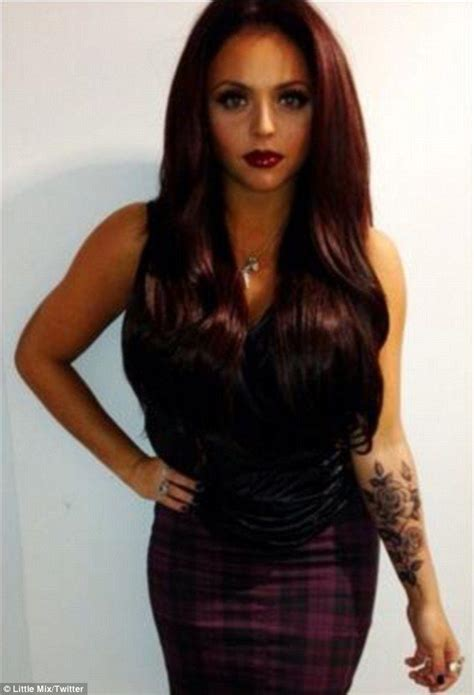 jesy nelson tattoos mix s jesy nelson unveils new on