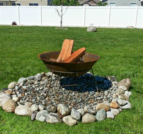 how to build a backyard fire pit out of bricks fire pit diy ideas anyone can make the weathered fox