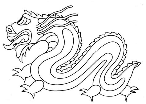 coloring page chinese dragon dragon coloring pages printable