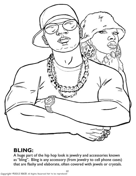 Gangsta Coloring Pages coloring books hip hop gangsta rap coloring book