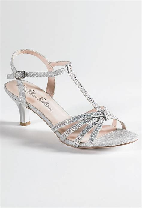 Wedding Shoes Usa by Low Heel Rhinestone Sandal From Camille La Vie And