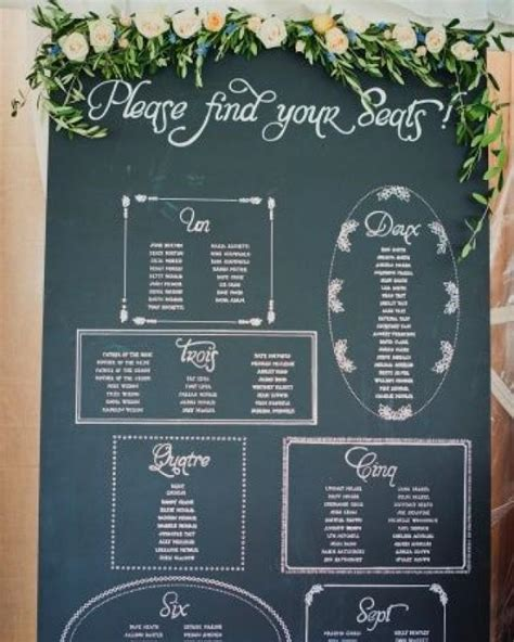 diy chalkboard table seating chart wedding card chalkboard seating chart