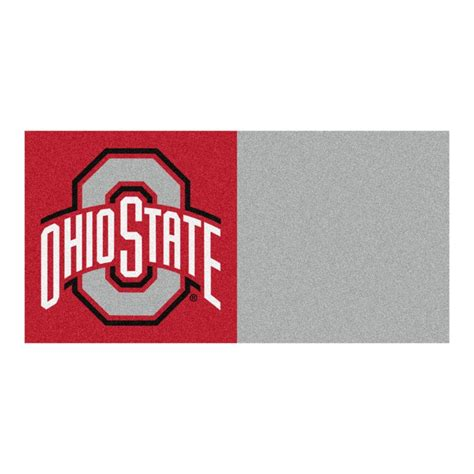 ohio colors fanmats ncaa ohio state gray and 18