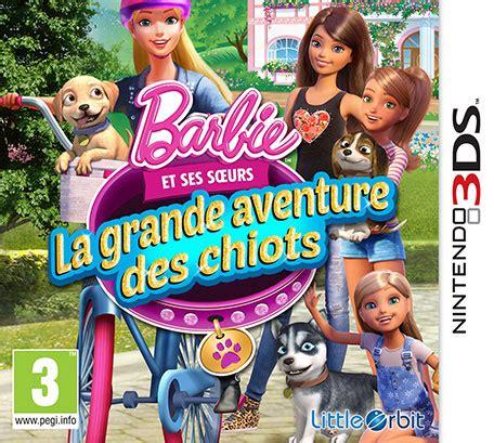 film barbie la grande aventure des chiots nds passion roms ds 3ds films dpg jeux ds 3ds et