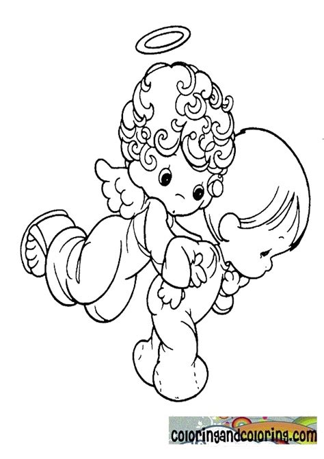 precious moments cowboy coloring pages