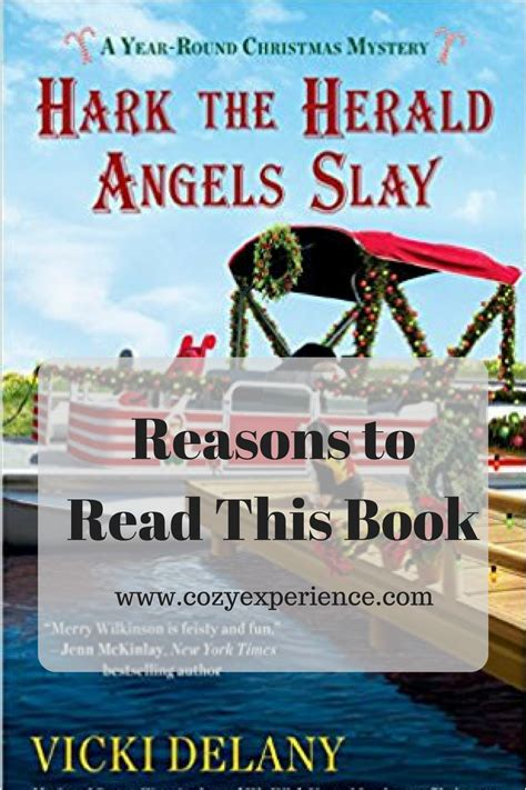 hark the herald slay a year mystery books reasons to read hark the herald slay a cozy