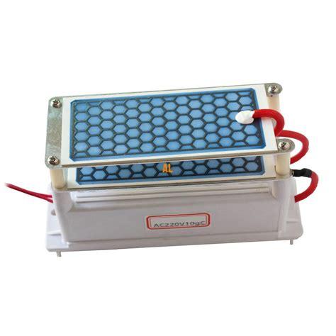 ozone generator p220v 110v 10g ortable air purifier ceramic integrated ceramic