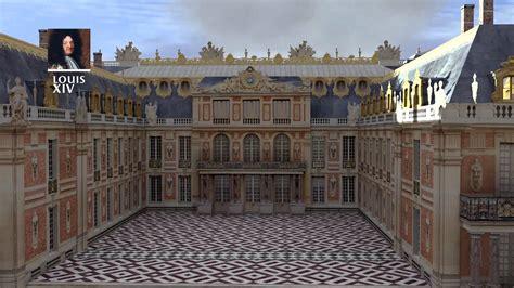 Reconstitution 3d Construction Du Ch 226 Teau De Versailles