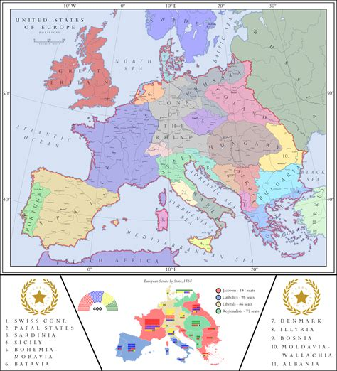 map of usa and europe alternate history weekly update