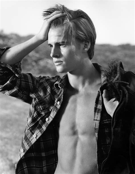 Max Brue max by bruce weber for a f ohlalamag