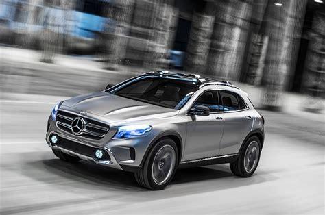 Mercedes Gla Concept Mercedes Gla Concept Suv Secrets Revealed Autocar Co Uk