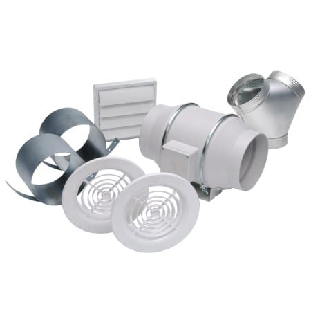 td 150 inline fan soler and palau kit td150 dv white td 150 dual vent in