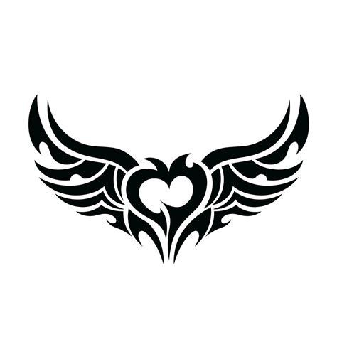 翅膀图案 翅膀纹身图案 翅膀符号图案 鹊桥吧