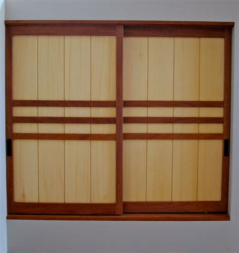 Japanese Amado Door Asian Closet San Francisco By Japanese Closet Doors
