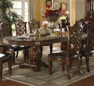 formal dining room table acme furniture vendome traditional formal dining table household furniture dining tables